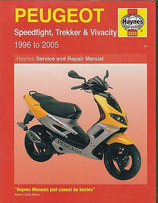 PEUGEOT SPEEDFIGHT TREKKER VIVACITY ( 1996 - 2005 ) SERVICE & REPAIR MANUAL