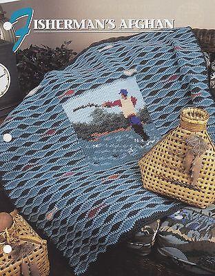 Шаблоны Fisherman's Afghan, Annie's Crochet Quilt