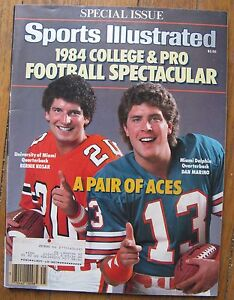 September-1984-Sports-Illustrated-Magazine-cover-Dan-Marino-Bernie-Kosar