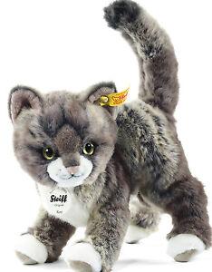 Steiff 099335 Kitty Katze Bauernhof Geschenk Geburtstag Weihnachten Tier 25 cm