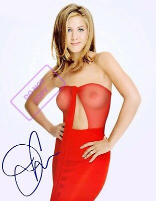 REPRINT RP 8x10 Signed Autographed Photo: Sexy Jennifer Aniston