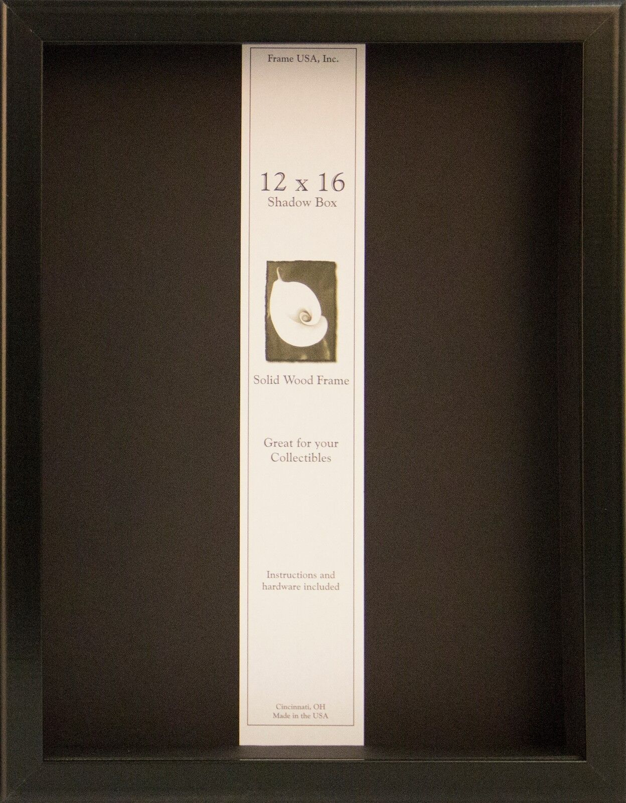 Frame USA 12x16 Shadow Box Showcase Picture Frame Availab...