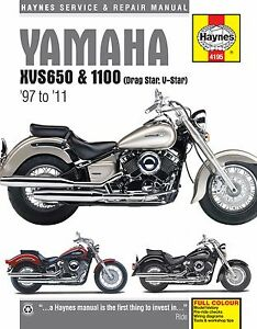 vstar 650 manual 1998 2011 yamaha vstar v star xvs 650 1100 haynes repair manual