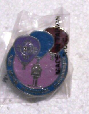1992 GLENN MOYER ANNOUNCER ALBUQUERQUE BALLOON PIN