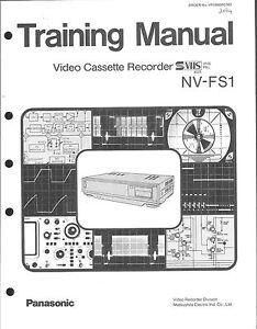 Panasonic-Training-Manual-fur-NV-FS-1
