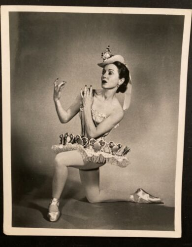 ballet ballerina photo Janet Reed in costume NYCB-BALLET THEATRE-SF BALLET