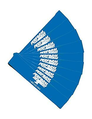 Perform Better Exercise Mini Band, Blue-Heavy - Set of 10