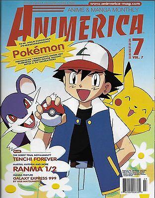 Animerica No.7 / 1999 Pokemon - The Multimedia Phenomenon!