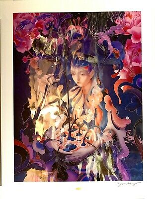 James Jean The Editor Night Mode Limited Edition Giclee Print Signed
