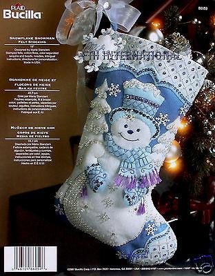 Bucilla Snowflake Snowman~ 18