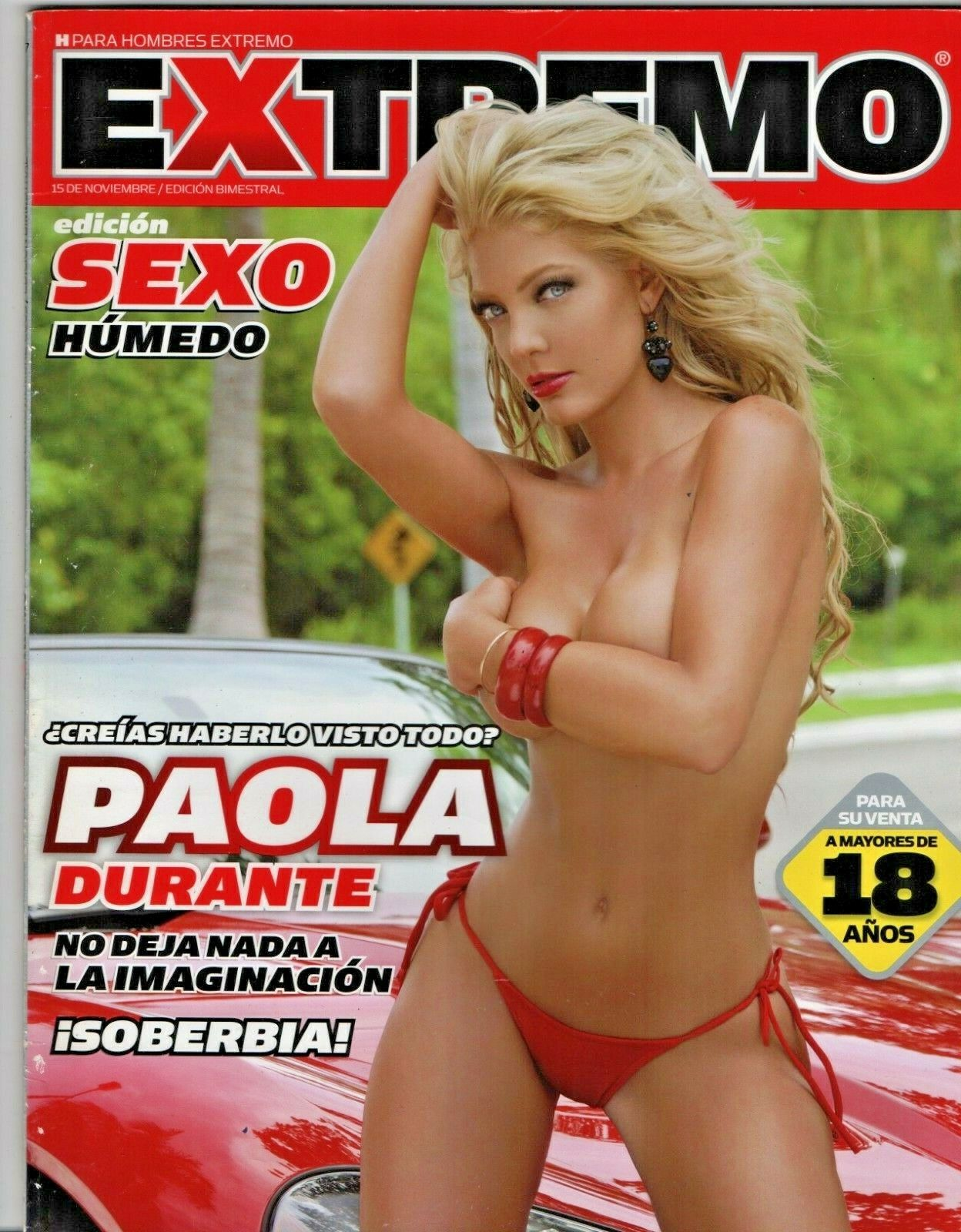 Altair Jarabo Revista H Старые журналы paola durante - h extremo: купить с доставкой