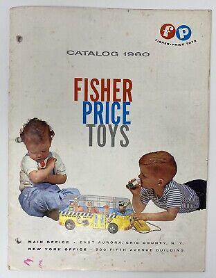 Fisher Price 1960 Toy Catalog