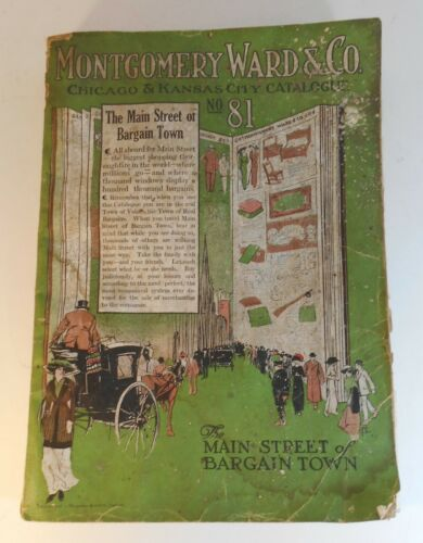 1913 Montgomery Ward & Co Catalog
