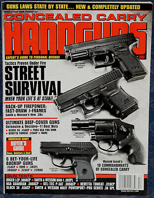 Magazine CONCEALED CARRY HANDGUNS #57 2009 GUNS of JAMES BOND, S&W PowerPort 637 for sale  Shipping to Canada