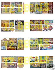 N-Scale-Ghost-Sign-Decals-MEGA-SHEET-3-Weather-Your-Buildings-Structures
