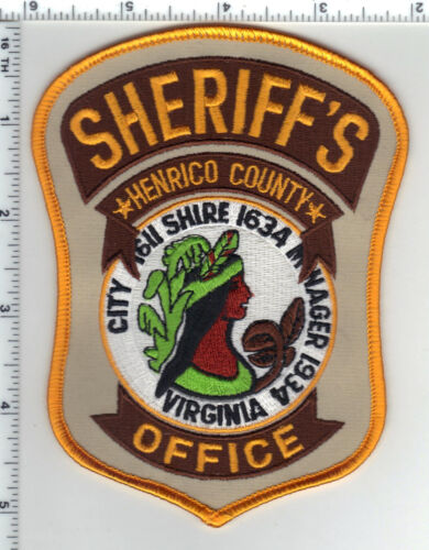 Henrico County Sheriff (Virginia) 5th Issue Uniform Take-Off Shoulder Patch