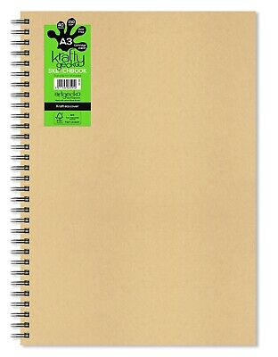 Artgecko Krafty Gecko All Media Cartridge Sketchbook A3 Portrait or Landscape