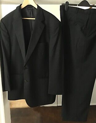 "Brooks Brothers Brooksease Wool Suit. 46"" Chest/38"" Waist/Inside Leg 29"""