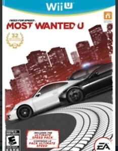 Recherche need for speed most wanted wii u