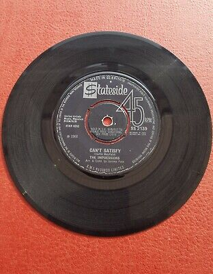 The Impressions - Can't satisfy/You've been cheatin'.
