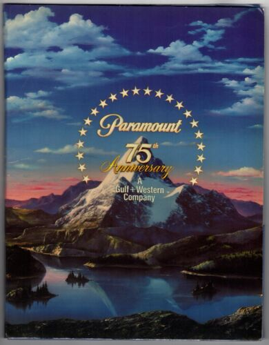 *PARAMOUNT PICTURES 75TH ANNIVERSARY Presskit With 23 8x10 Photos & Releases