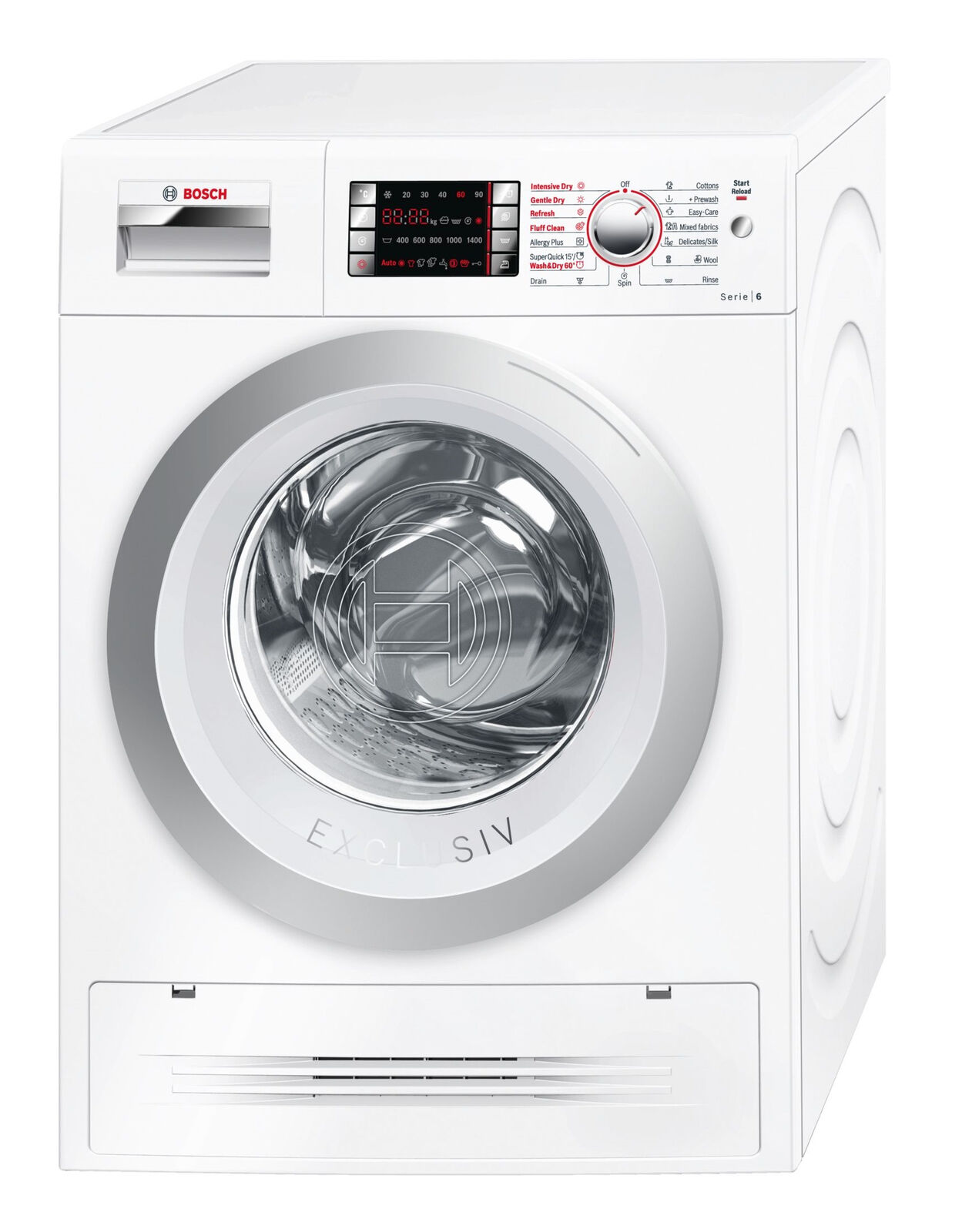Bosch WVH AU Washer and Dryer bo