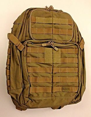 5.11 Rush 24 Backpack, Flat Dark Earth 58601-131