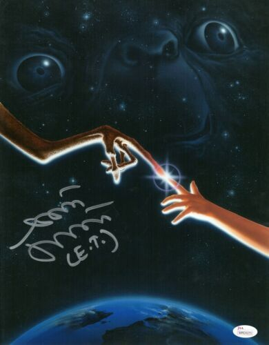 Matthew DeMeritt Autograph Signed 11x14 Photo - E.T. (JSA COA)