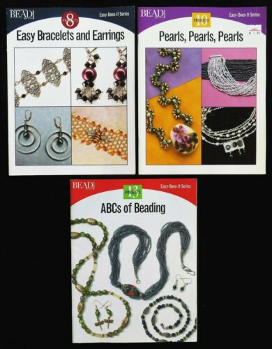 Lot 3 Bead & Button Easy Does It Series Beading Projects