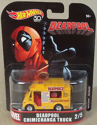 Hot Wheels Entertainment Marvel - Deadpool - Chimichanga Truck - Real Riders