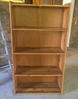 Bookcase pine
