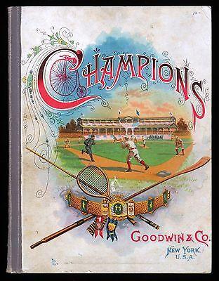1888 A36 Goodwin & Co. Champions Tobacco Premium Album Baseball Cap Anson N162