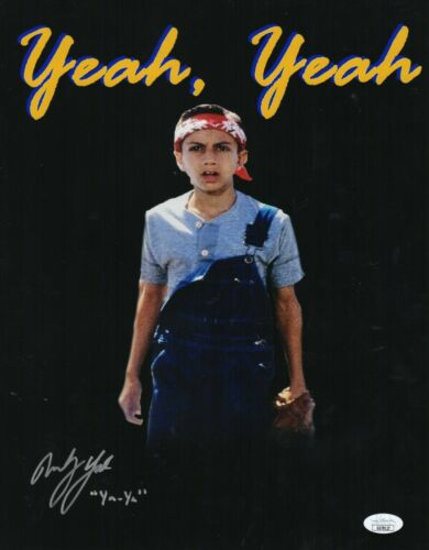 "Marty York Autograph Signed 11x14 Photo - The Sandlot ""Yeah-Yeah"" (JSA COA)"