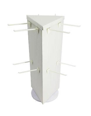 Corrugated Socks Display Rotating Peg Hook Display Coutertop Display Rack 18102
