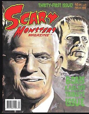 SCARY MONSTERS MAGAZINE 31 1999 HORROR BORIS KARLOFF TRIBUTE ISSUE ZOMBIE BUFFET (Zombie Buffet)
