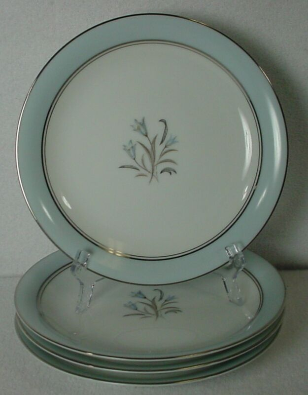 Noritake China Bluebell Pattern 5558 Bread Plate - Set Of Four (4) @ 6-1/4""
