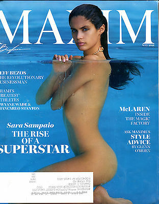 Maxim Magazine May 2016 Sara Sampaio Ex 062716Jhe