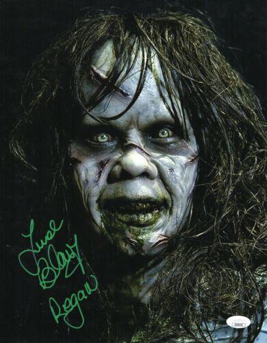"Linda Blair Autograph Signed 11x14 Photo - The Exorcist ""Regan"" (JSA COA)"