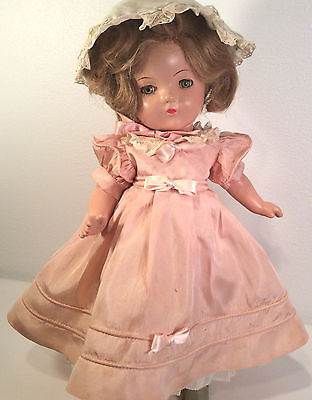 "Vintage Madame Alexander 13"" ~Betty Face ~ Princess Elizabeth ~All Original 1935"