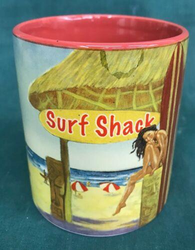 Island Heritage Surf Nostalgic 2008  Surf Shack Artwork Coffee Mug Hawaii