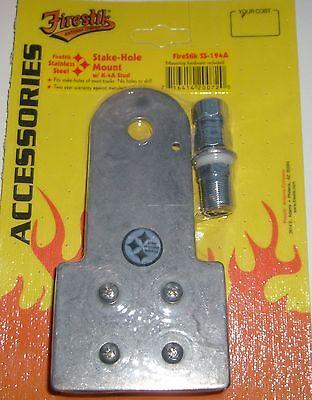 FireStik SS-194A Pickup Truck Bedrail Stakehole Antenna Moun