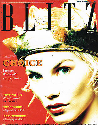 BLITZ Magazine #63 March 1988 SARAH STOCKBRIDGE By RUSELL YOUNG Donald Trump VGC