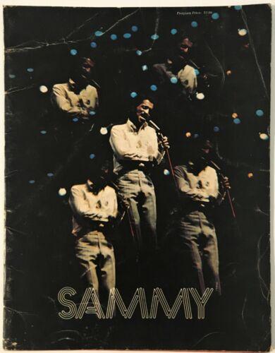 1973 SAMMY DAVIS JR. CONCERT SOUVENIR PROGRAM BOOK