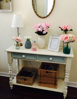French provincial Hamptons style  hall table