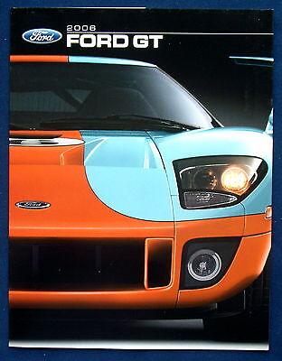 Prospekt brochure 2006 Ford GT (USA) 1