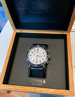Shinola runwell sport chrono 48mm men's watch