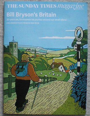 Bill Bryson – Sunday Times Magazine – 27 September 2015