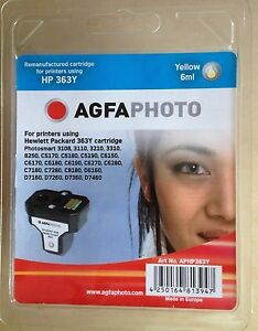AGFAPHOTO CARTUCCIA YELLOW HP 363Y COMPATIBILE PHOTOSMART 6ML C8773E - Italia - AGFAPHOTO CARTUCCIA YELLOW HP 363Y COMPATIBILE PHOTOSMART 6ML C8773E - Italia