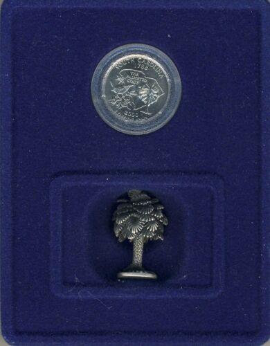 SOUTH CAROLINA Coin & Figurine Set Hallmark American Spirit Collection QUARTER