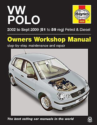 Haynes Manual Volkswagen VW Polo 2002-2009 NEW 4608